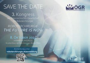 3. Kongress der Österreichischen Gesellschaft für Roboterchirurgie